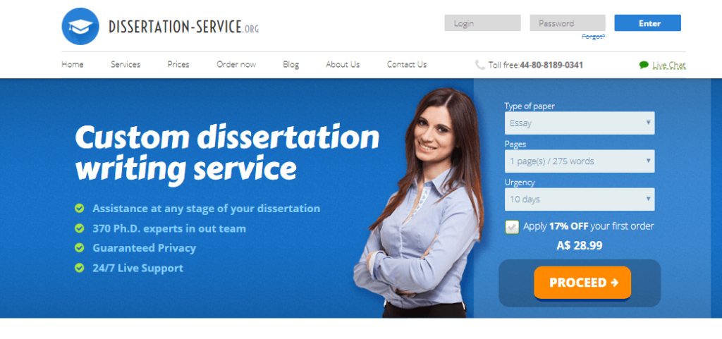 Dissertation service review